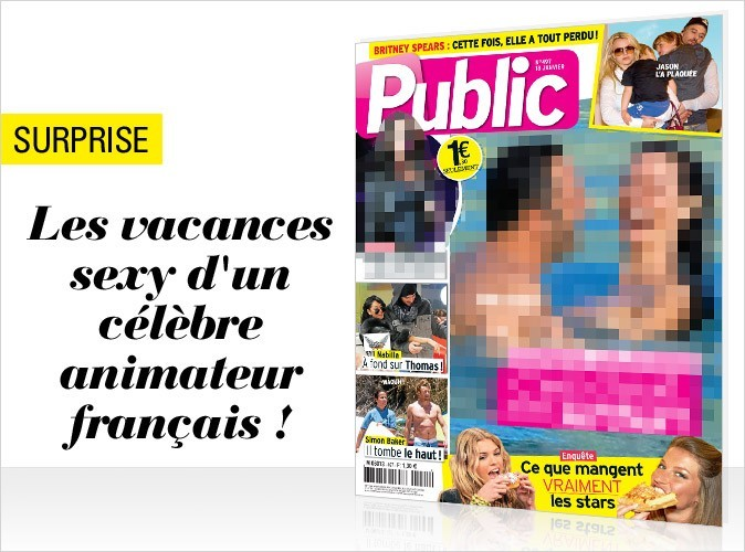 Magazine Public : un célèbre animateur en couverture !