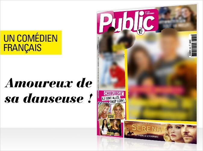 Magazine Public : Un jeune comédien français amoureux de sa danseuse en couverture !