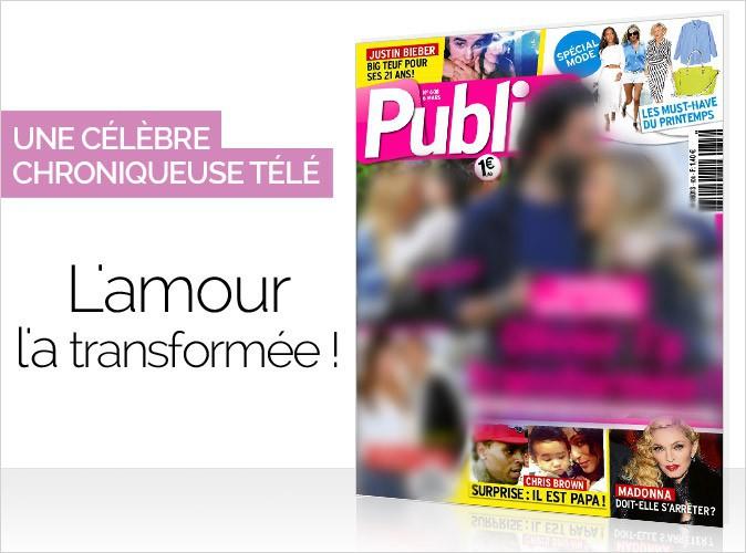 Magazine Public :  une célèbre chroniqueuse télé en couverture... L'amour l'a transformée !