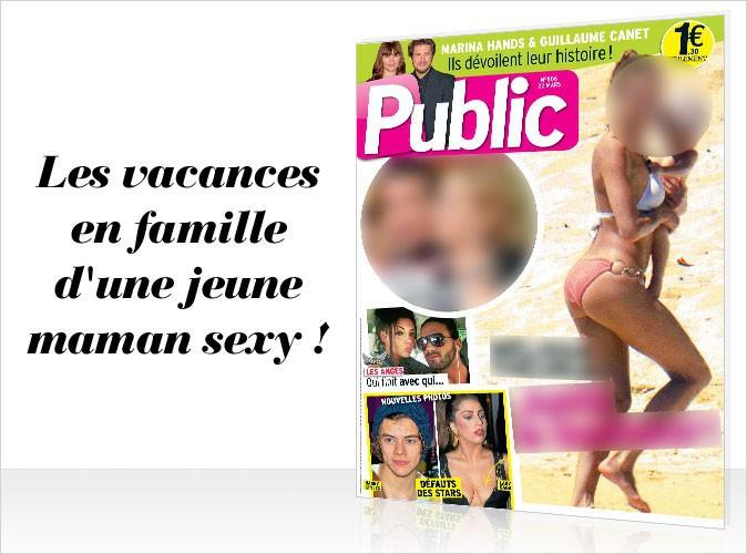 Magazine Public : une jeune maman en couverture !