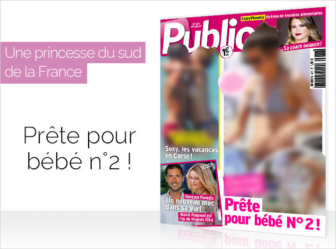 Magazine Public : une princesse du sud... prête pour le deuxième bébé !