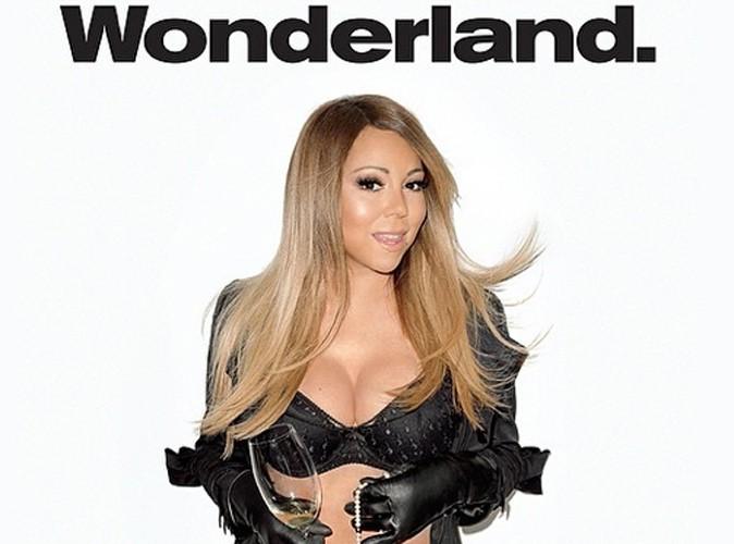 Mariah Carey : à 44 ans, la diva s'affiche torride en lingerie fine pour le Wonderland Magazine !