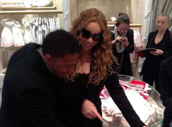 Mariah Carey : à peine arrivée à Paris, déjà en plein shopping pour ses bébés !