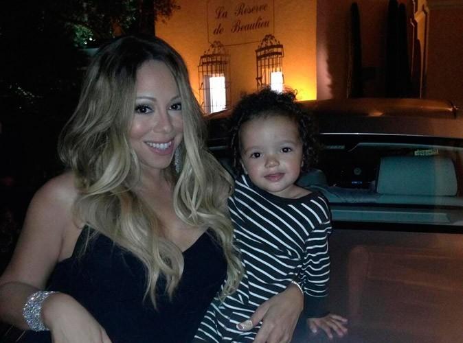 """Mariah Carey : avec son """"globe trotteur en devenir"""" sur la Côte d'Azur !"""
