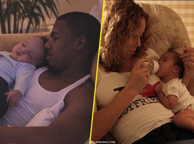 Mariah Carey et Nick Cannon : leurs jumeaux Moroccan et Monroe parlent déjà !