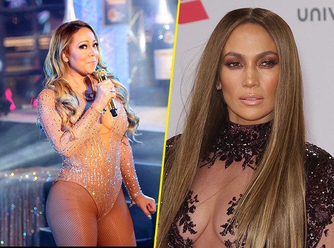 Mariah Carey moquée par les internautes et... Jennifer Lopez !