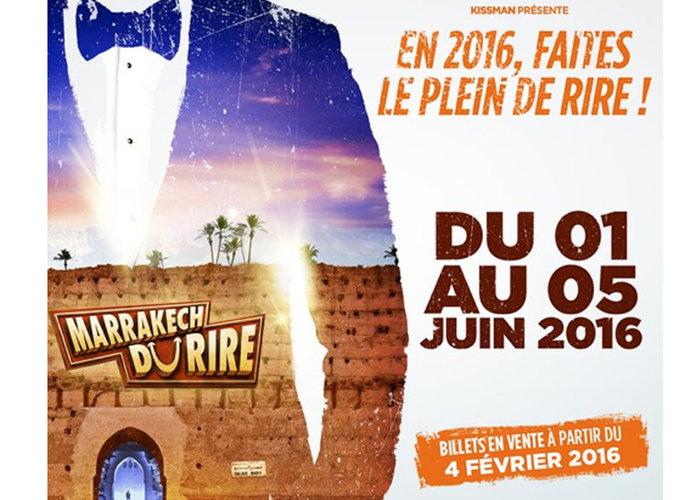 Marrakech du rire 2016: Les dates enfin révélées !
