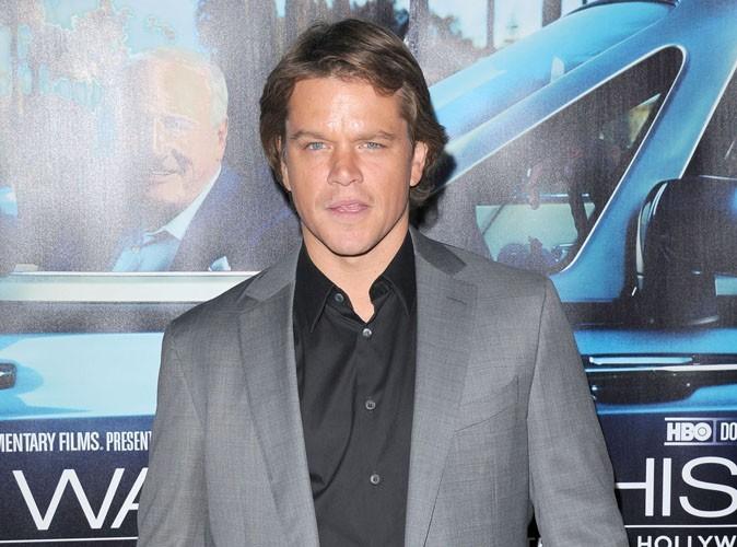 Matt Damon : il s'est rasé toute la tête !