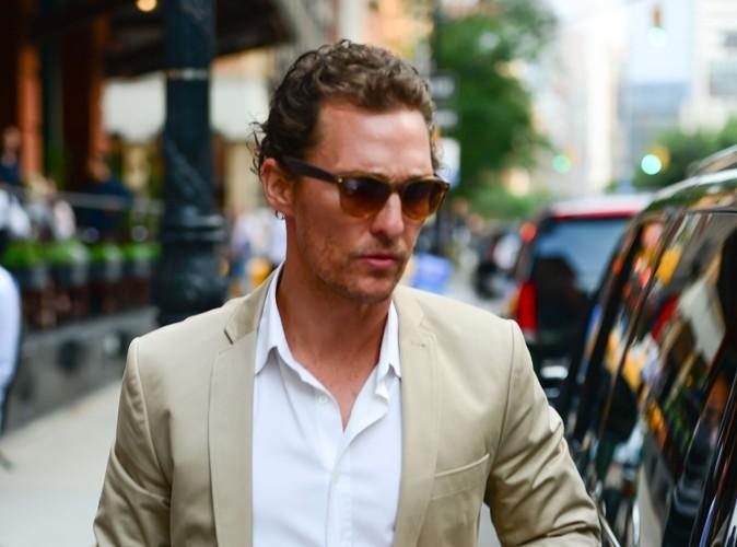 """Matthew McConaughey : """"le striptease c'est comme une drogue"""""""