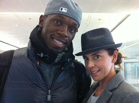 Mel C : impressionée par sa rencontre avec Usain Bolt !