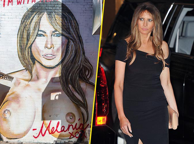 Melania Trump : Accusée par le DailyMail d'avoir été escort girl, elle contre-attaque !