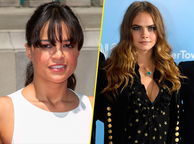 Michelle Rodriguez f�licite son ex Cara Delevingne pour son coming-out !
