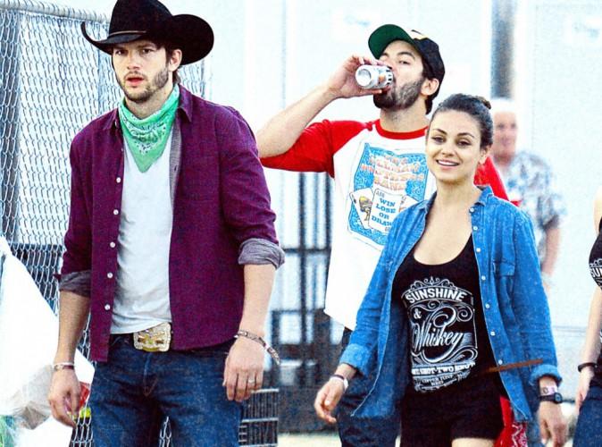 Mila Kunis et Ashton Kutcher : Ils ont opté pour une lune de miel rustique !