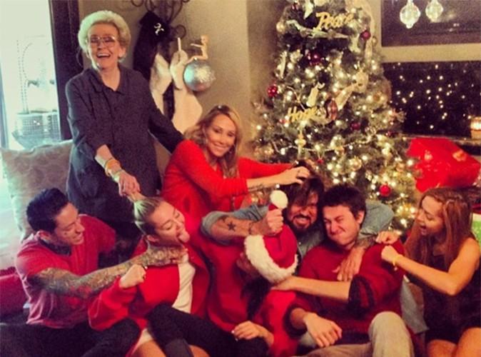 Miley Cyrus : bagarre en famille pour célébrer Noël !