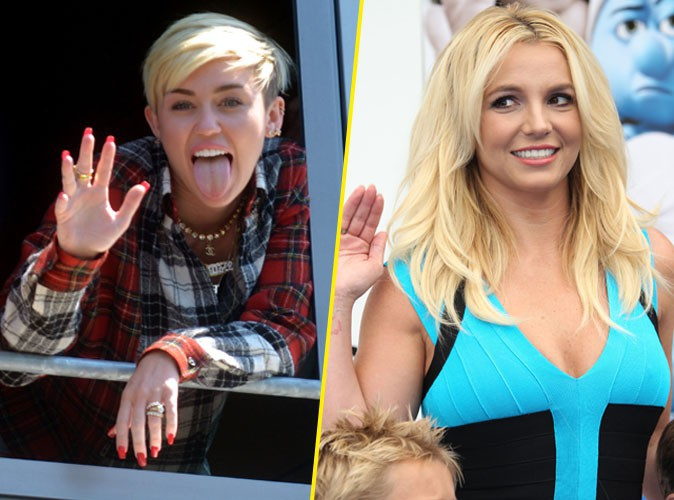 """Miley Cyrus : """"Britney (Spears) est la seule personne qui me comprend !"""""""