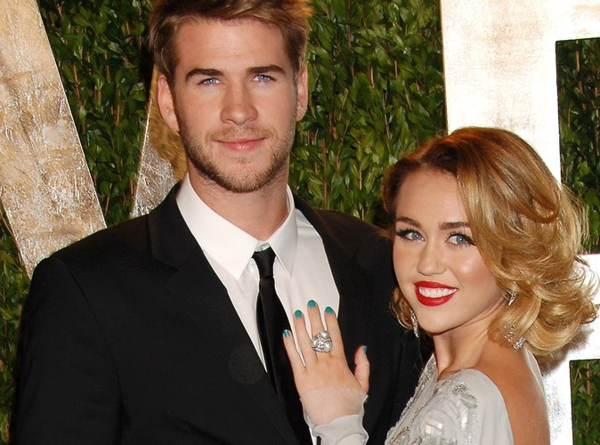Miley Cyrus : fiancée à son beau Liam Hemsworth !