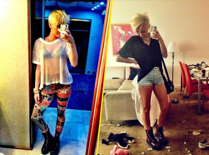 Miley Cyrus : fière de sa silhouette et de son look, elle continue à se montrer sur la toile !