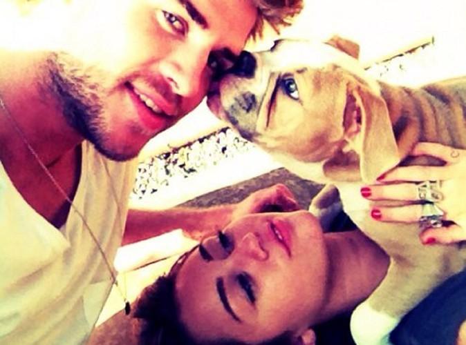 """Miley Cyrus : """"J'adore être fiancée"""" !"""