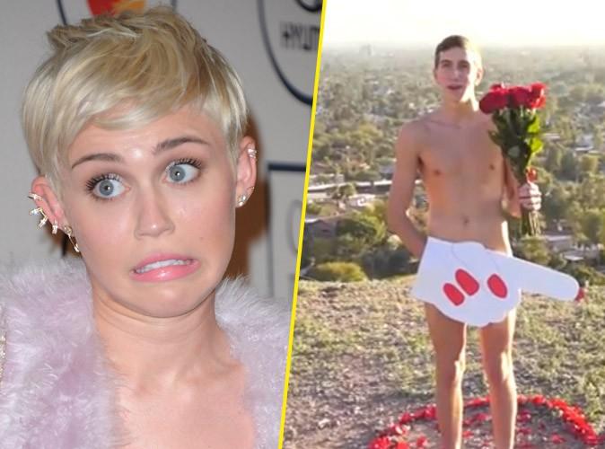 Miley Cyrus : sa réponse à l'invitation de son fan audacieux...