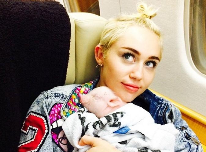 Miley Cyrus, un nouveau petit cochon dans sa vie !