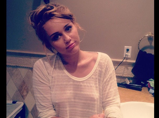 Miley Cyrus : une nouvelle photo provoc' !