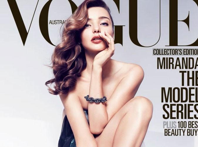 Miranda Kerr : forcément sublime dans le dernier numéro de Vogue Australie !