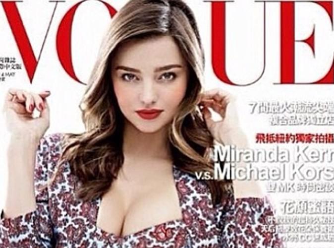 Miranda Kerr : supra-sexy en cover du Vogue Taïwan !