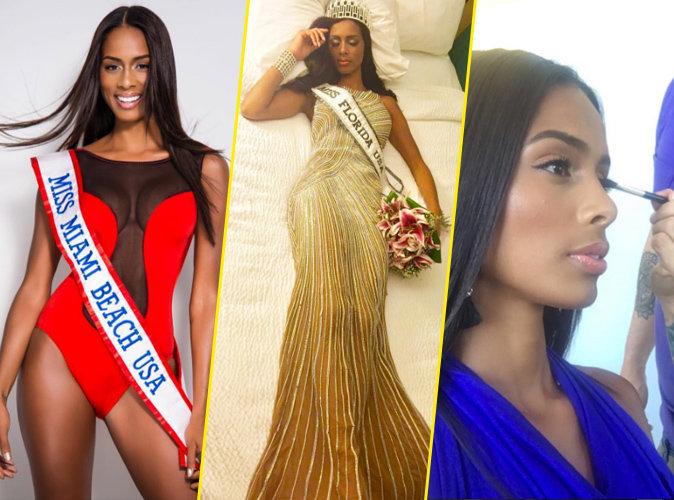 Miss Floride 2016 : disqualifi�e � cause d'un maquillage trop r�ussi !