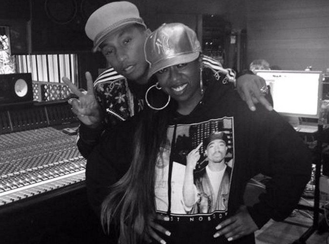 """Missy Elliott : Son grand retour dans """"WTF"""" aux côtés de Pharell Williams !"""