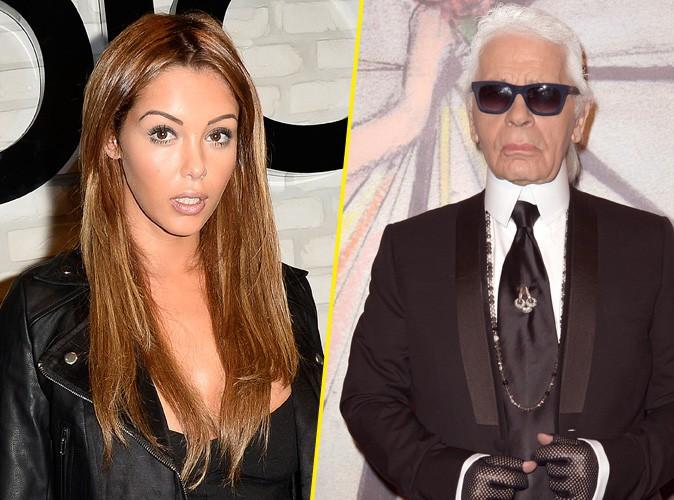 Nabilla Benattia : clash�e par Karl Lagerfeld, elle lui r�pond !