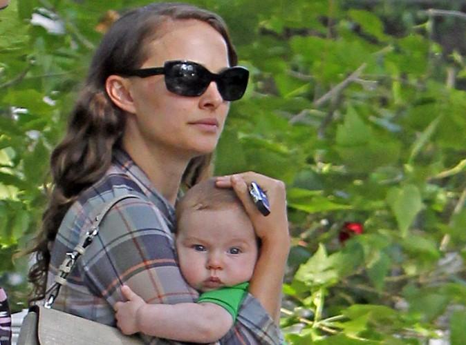 """Natalie Portman : avec les deux hommes de sa vie, c'est le bonheur avec un grand """"B"""" !"""