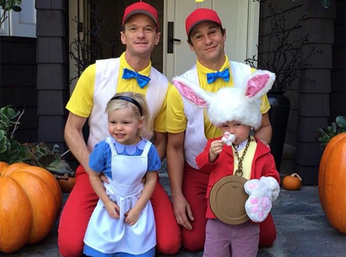 Neil Patrick Harris : il nous présente les costumes d'Halloween de son adorable famille !