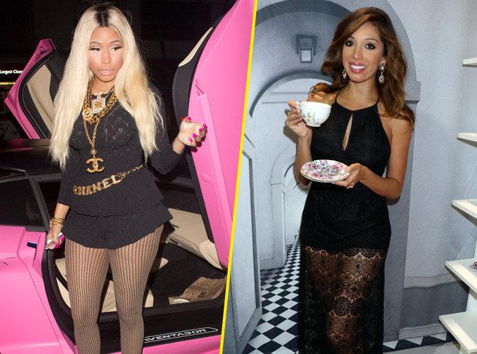 Nicki Minaj : entre Farrah Abraham de Teen Mom et la chanteuse, c'est la guerre !