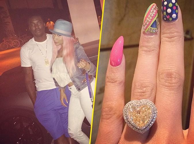 Nicki Minaj est fiancée à Meek Mill !