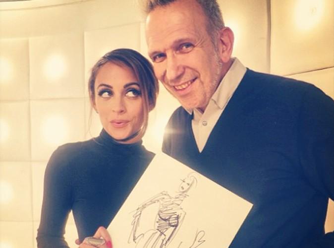 Nicole Richie : Jean Paul Gaultier lui dédicace un dessin !