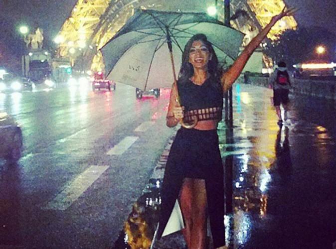 Nicole Scherzinger : malgré la pluie (et son accueil spécial dans TPMP), elle adore toujours Paris !