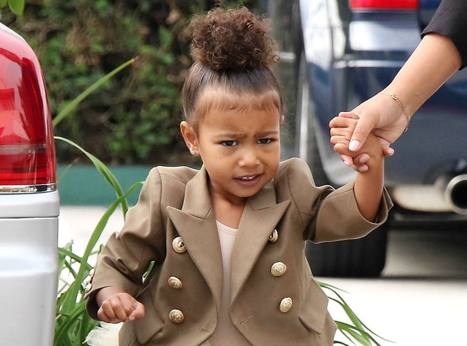 North West : La fille de Kim et Kanye jalouse de son little brother !