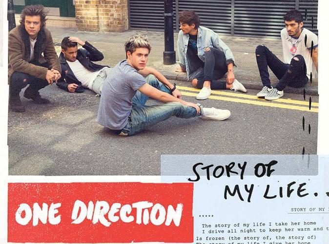 """One Direction : écoutez en intégralité leur nouveau single, """"Story Of My Life"""" !"""