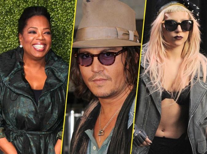 Oprah Winfrey, Johnny Depp, Lady Gaga ... découvrez toutes les stars les mieux payées en 2010 !