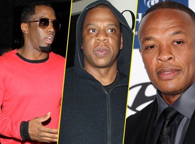 P Diddy, Jay-Z et Dr Dre : sur le podium des rappeurs les plus riches !