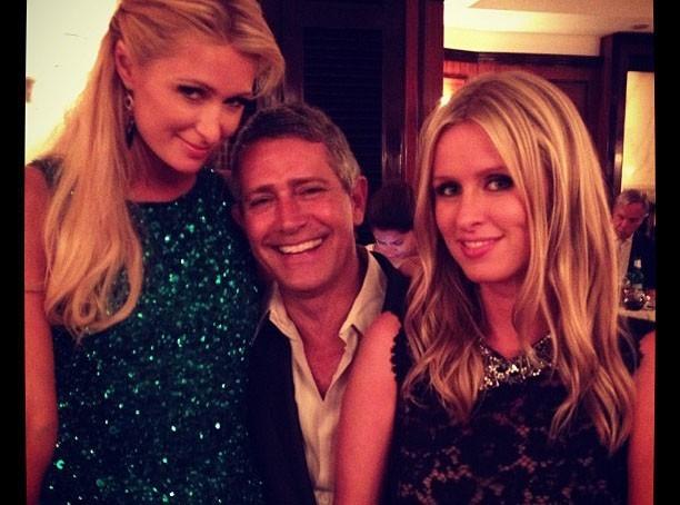 Paris Hilton : avec sa soeur à la Vogue Fashion Night Out !