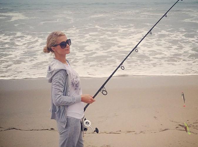 Paris Hilton : elle s'éclate à la pêche !