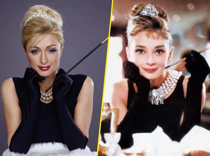 Paris Hilton : et maintenant elle se prend pour Audrey Hepburn...