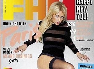 Paris Hilton : six ans après sa première couv' pour FHM, elle revient jouer les allumeuses !