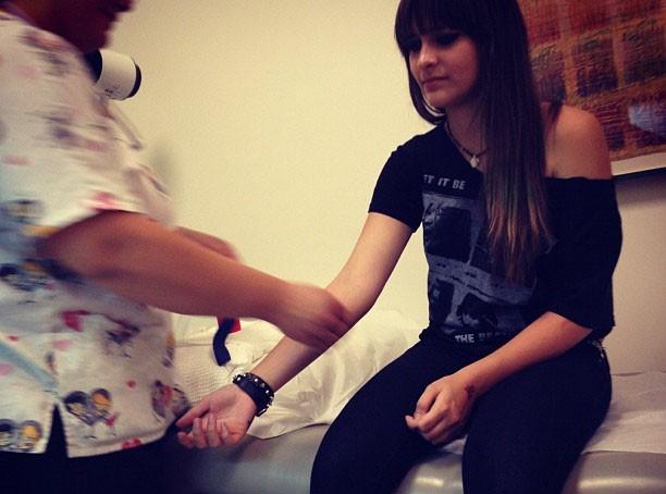 Paris Jackson : de passage chez le docteur pour une prise de sang !