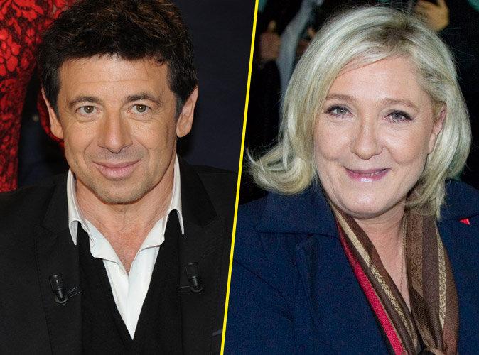 Patrick Bruel flingue Marine Le Pen !