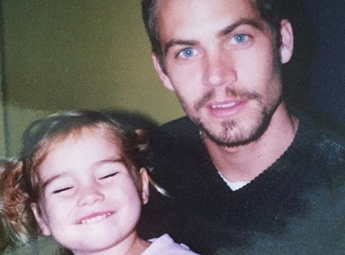 Paul Walker : sa fille ressort une belle photo de famille...