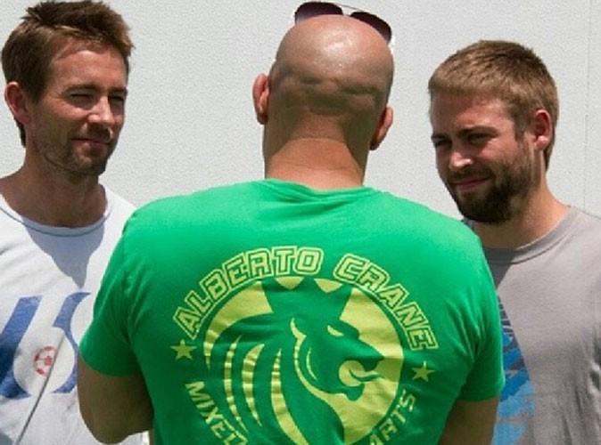 Paul Walker : ses deux frères prennent la pause avec Vin Diesel sur le tournage de Fast And Furious 7 !