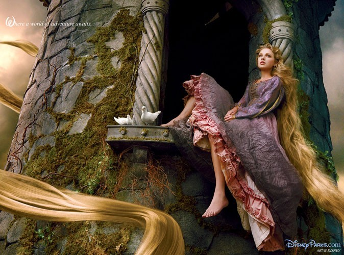 Photo : Taylor Swift : elle se transforme en Raiponce pour Disney…