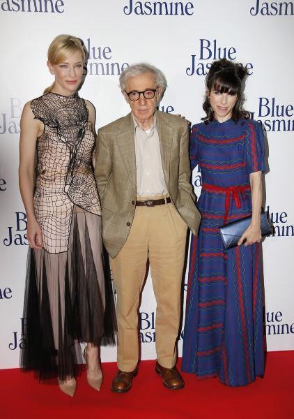 L'équipe du film Blue Jasmine réunit à Paris pour l'avant-première, le 27 août 2013